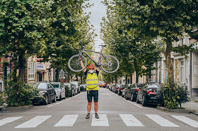 De fiets brengt je in beweging